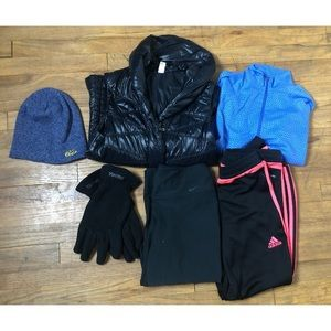Nike Lucy Marmot winter athletic bundle
